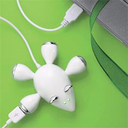 Mouse USB Hub, $9.99
