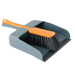 Square Dustpan Set Graphite