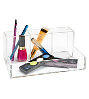 4-Section Acrylic Cosmetic Organizer