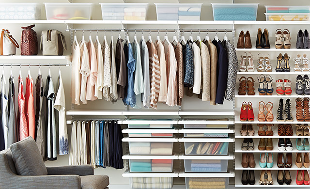 Closet Organizers Closet Storage Amp Clothing Storage The Container Store