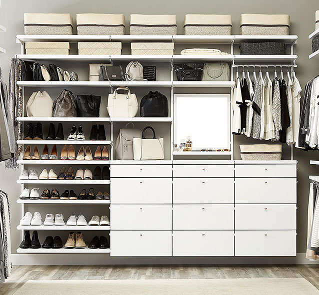 Closet Shelves  Closet Shelving Layout amp Design  Small