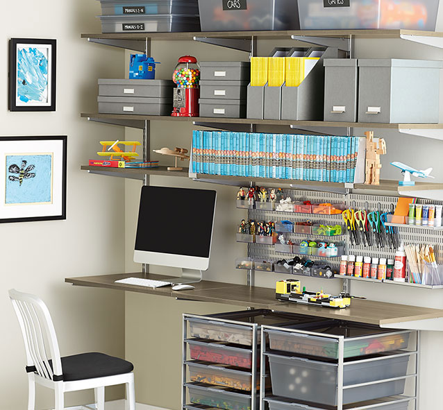 Elfa Shelving System The Container Store