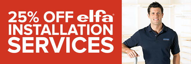 elfa Installation