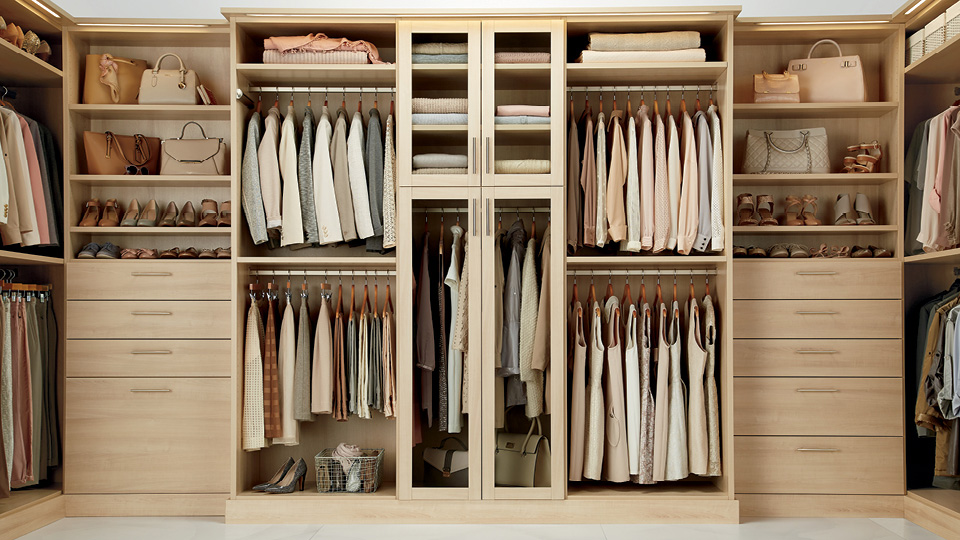 Custom closets custom closet design the container store for Adding a walk in closet