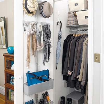 Hall Closet How To S Ideas Amp Organization Tips The Container Store