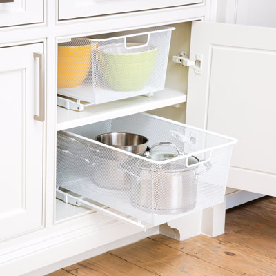 The Container Store > Tip > Organize Your Kitchen Cabinets