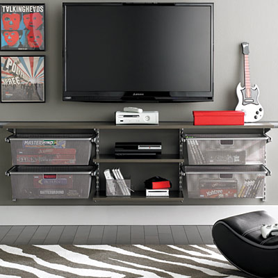 Homemade And Creative Entertainment Centers