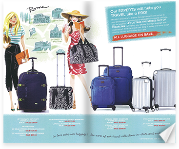 travel sale catalog