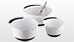 OXO® White Mixing Bowl Set Video