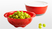 OXO® 3-Piece Berry Bowl & Colander Set Video