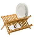 Folding Bamboo Dish Rack