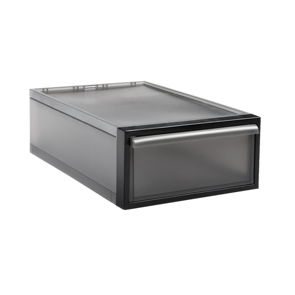 like-it Small Stacking Drawer Smoke