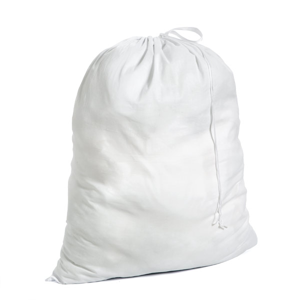This Cotton Laundry Bag from Honey-Can-Do is a simple solution for laundry day. The bag is made of durable cotton that allows clothing to breathe and keeps mildew at bay. The drawstring closure prevents spills and works as strap for easy transport.