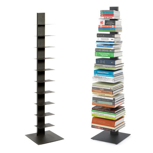italian modular shelving book shelf anthracite sapien bookshelf the container store