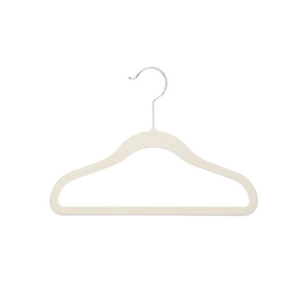 Kid's Huggable Hangers Ivory Pkg/5