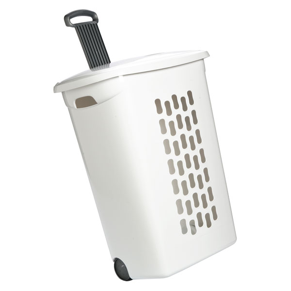 Rolling Hamper With Wheels The Container Store