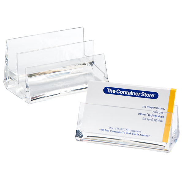 Acrylic Business Card Holders The Container Store