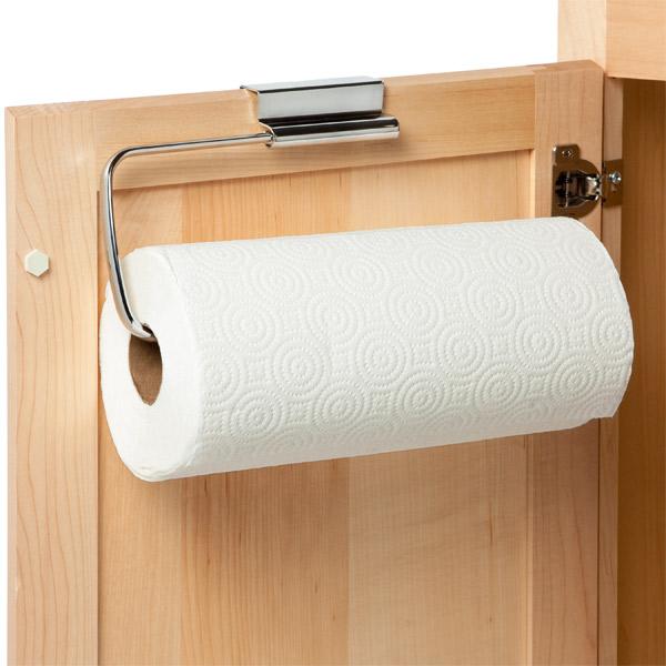 Under Shelf Kitchen Roll Holder: InterDesign Stainless Steel Over The Cabinet Paper Towel