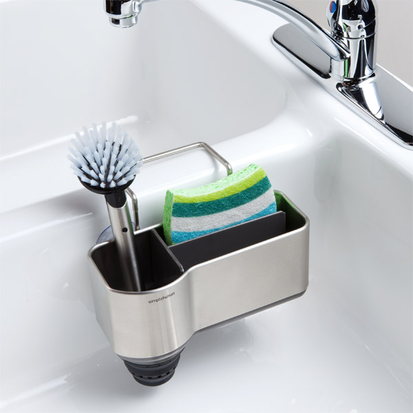 beautiful Kitchen Sink Organizers Accessories #8: simplehuman Sink Caddy