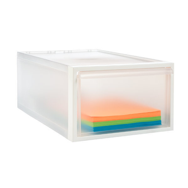 like-it Medium Stacking Drawer Translucent