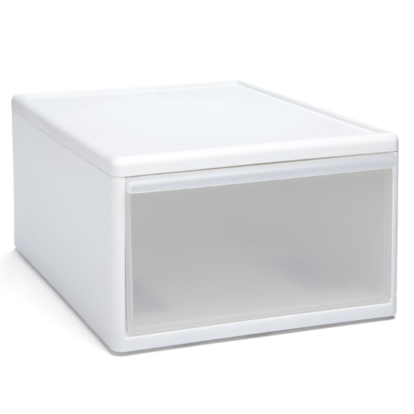 like-it Modular Short Wide Drawer White