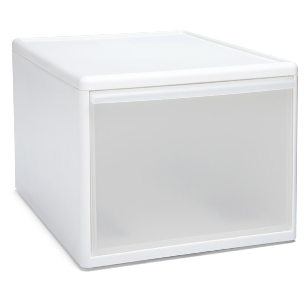 Like-it Modular Tall Wide Drawer White
