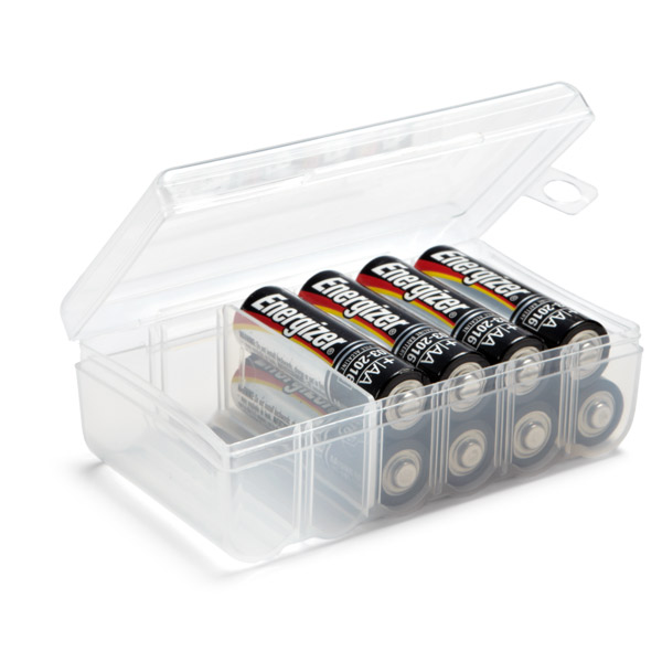 AA Battery Storage Case
