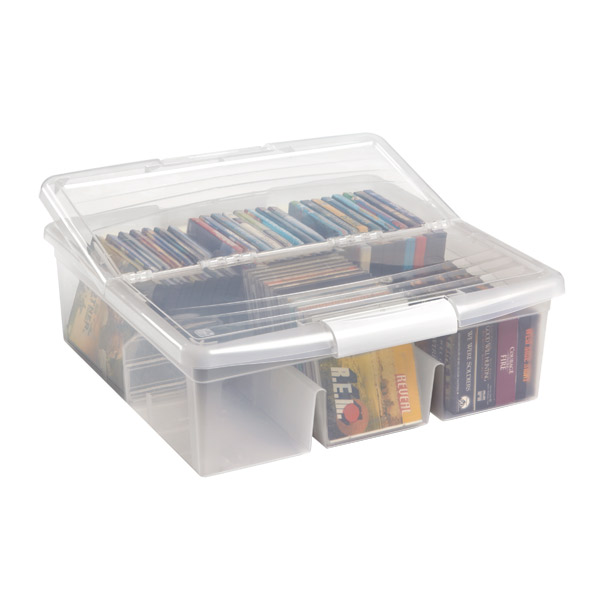 Iris Large Media Storage Box