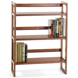 This Review Is FromChestnut Stackable Folding Bookcase