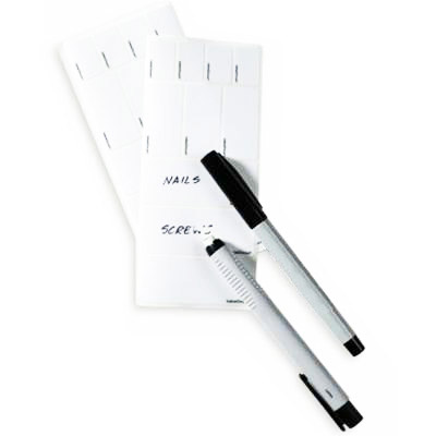 Multi-Purpose Erasable Label Starter Kit Pkg/70