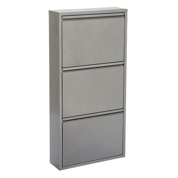 Shoe Cabinet - 3-Drawer Shoe Cabinet | The Container Store
