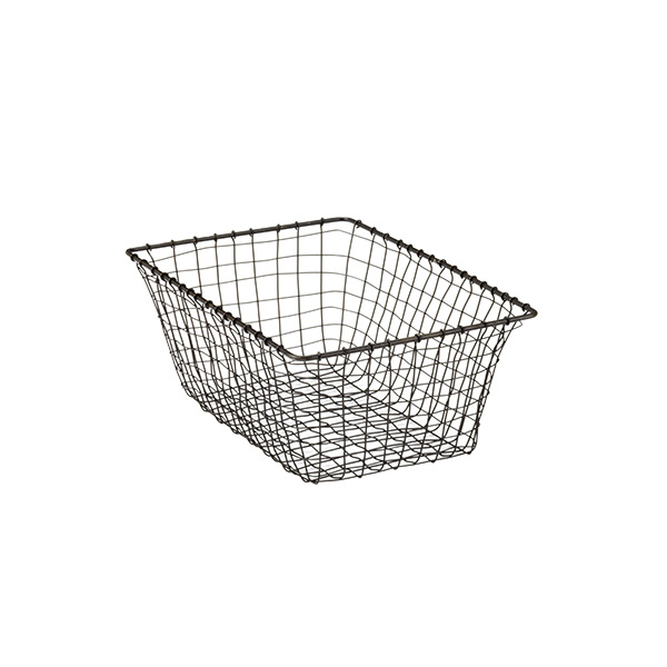 Small Marche Basket Rustic Steel