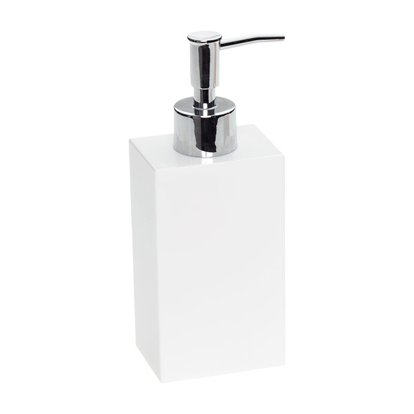 7.4 oz. Deco Soap Pump Dispenser White