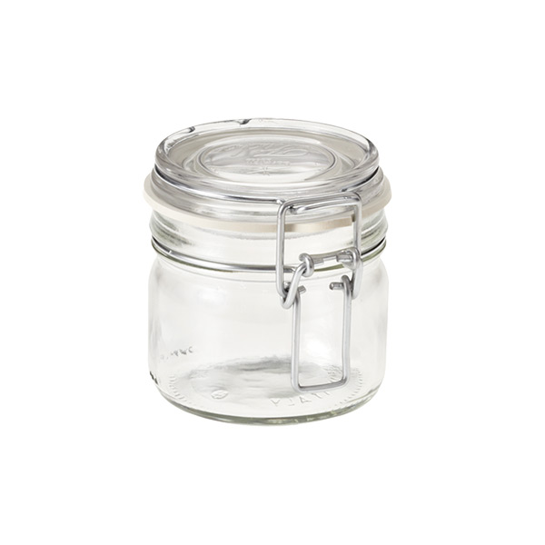Bormioli 7.75 oz. Hermetic Storage Jar 229 ml.
