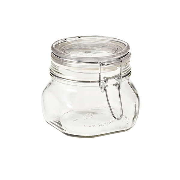 Bormioli 16 oz. Hermetic Storage Jar 500 ml.