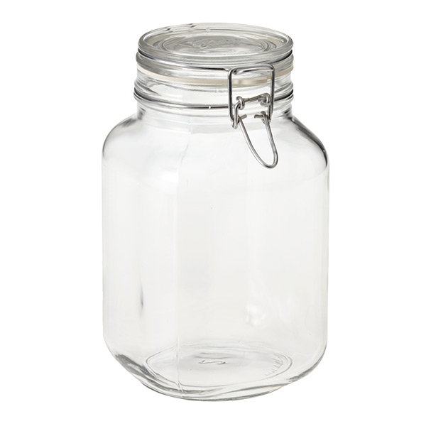 2.1 qt. Hermetic Storage Jar 2 ltr.