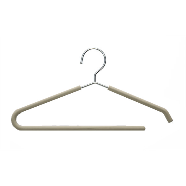 Grippy Hanger with Trouser Bar Mushroom Pkg/3