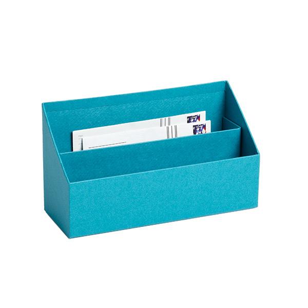 Bigso Stockholm Letter Sorter Turquoise