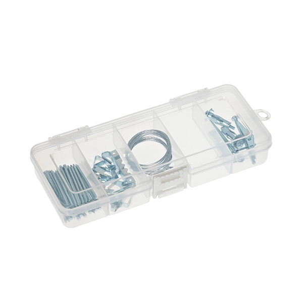 Small 5-Compartment Box Translucent