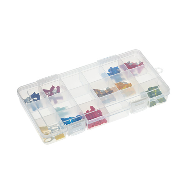 Medium 18-Compartment Box Translucent