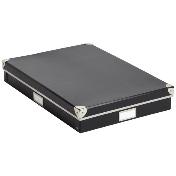 Bigso Art Storage Box Black