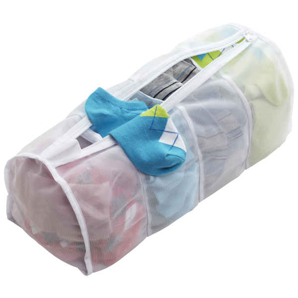 4-Section Micro Mesh Wash Bag