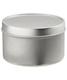 8 oz. Seamless Tin Silver