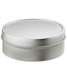 4 oz. Shallow Seamless Tin Silver
