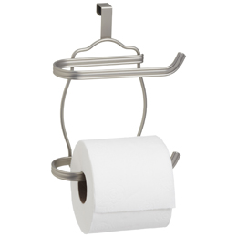 InterDesign York Over the Tank Bath Tissue Holder