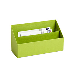 Bigso Stockholm Letter Sorter Green