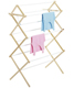 11-Dowel Drying Rack Natural & White