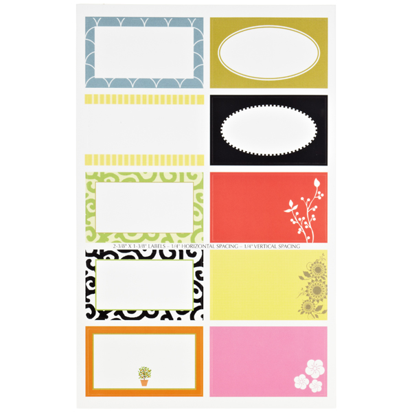 Round & Square Gift Labels