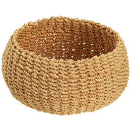 Small Round Woven Makati Storage Basket