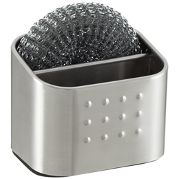 InterDesign Forma Stainless Steel Scrubby Caddy